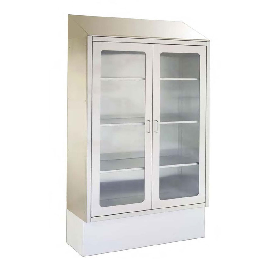SURGICAL STORAGE CABINETS Store supplies, catheters, endoscopes. Many sizes, recess or surface mount.