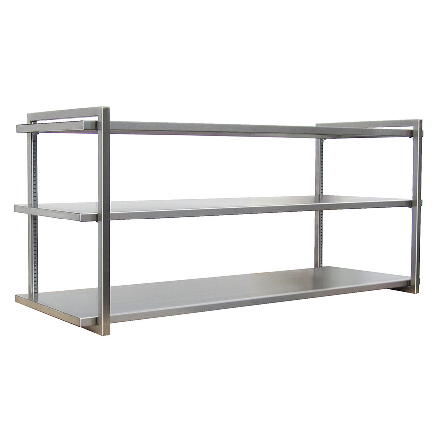 CARR TOTAL SHELVINGUniversal shelving can be wall hung, freestanding, rolling or ceiling suspended. Made to your size.