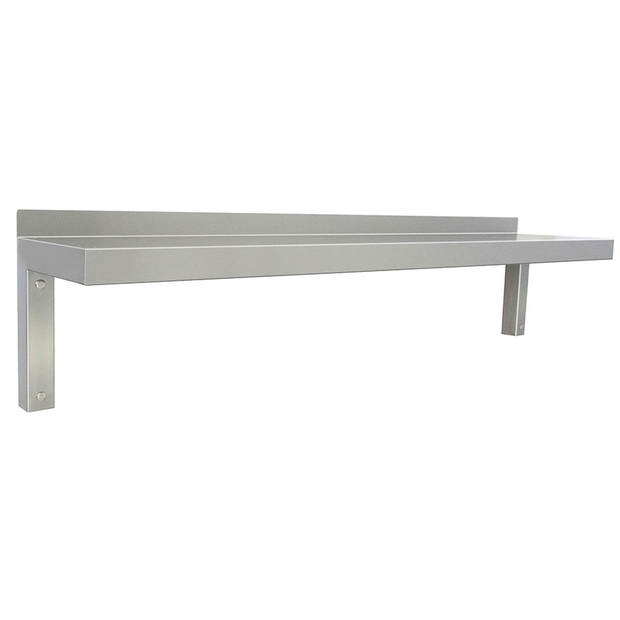 "WALL SHELF, TABLEUnique ""L"" profile wall shelf or abbreviated table up to 18"" deep. Made to your size."